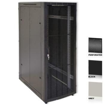 "16U 19"" Grey Network Cabinets 600 X 1000 Perforated Door"
