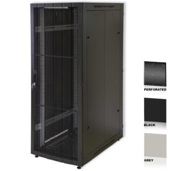 "20U 19"" Grey Network Cabinets 600 X 800 Perforated Door"