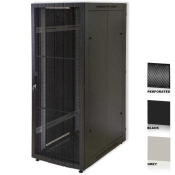 "25U 19"" Grey Network Cabinets 600 X 800 Perforated Door"