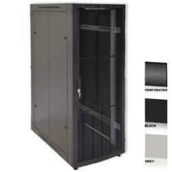 "38U 19"" Grey Network Cabinets 600 X 1000 Perforated Door"