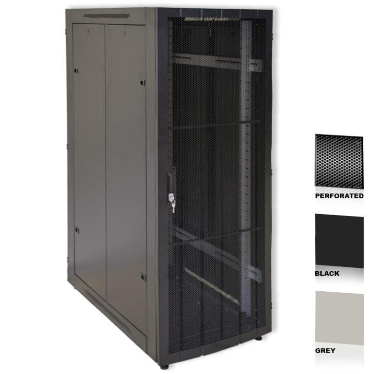 "42U 19"" Grey Network Cabinets 600 X 1000"