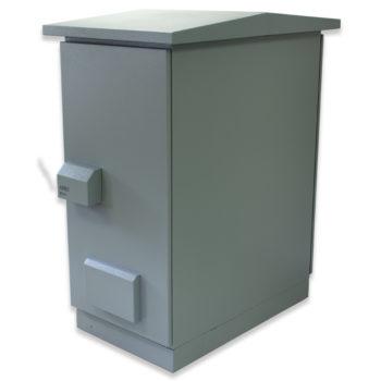 "20U 19"" IP55 Outdoor Ventilated 600 x 1000 Aluzinc"