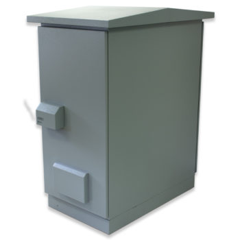 "20U 19"" IP55 Outdoor Ventilated 600 x 1000 Powder"
