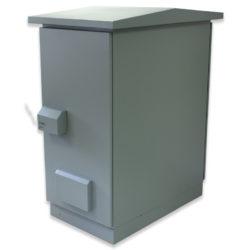 """34U 19"""" IP55 Outdoor Ventilated 600 x 1000"""