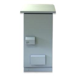 "34U 19"" IP55 Outdoor Ventilated 600 x 600 Aluzinc"