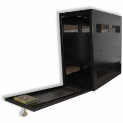 PC Safe With Safe Lock Easy Ventilation