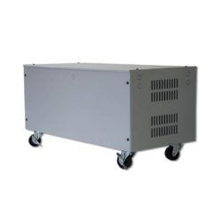 Power-backup-battery-bank-cabinet-2xbatteries-200a-base-&-wheels