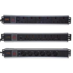 RSA 6 Way 16A 19' Rack Mount ZA Plug