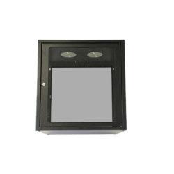 6U Apollo Wall Box Glass Doors