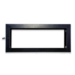 12U Wall Mount Collar Frames 100mm Depth