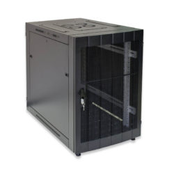 12U Wall Mount Flat Pack Standard Cabinet 450mm Perforated